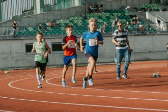 Ilūkstiešiem veiksmīgi starti bērnu sacensībās Jelgavā