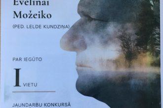 Ilūkstes Mūzikas un mākslas skolas audzēkņu darbos ieskanas Jāņa Ivanova skicējums un vokalīze