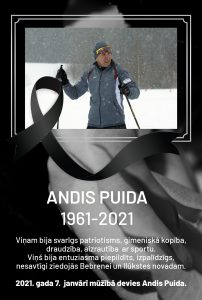 In Memoriam… Andis Puida