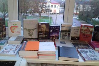 Novada bibliotēkas saņēmušas vērtīgu grāmatu dāvinājumu no Latvijas Nacionālās bibliotēkas
