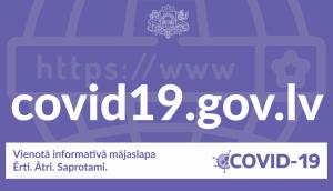 Oficiālā informācija par Covid-19 pieejama vienuviet