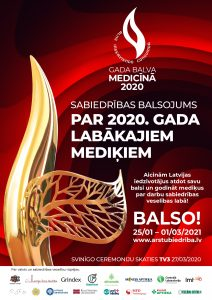 Aicina balsot par 2020. gada labākajiem mediķiem