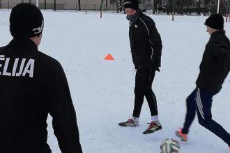 Sniegs un ledus pulcē sportot gribētājus