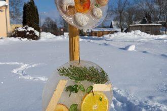 """Subatē tapuši ledus """"sveicieni"""" Valentīndienā un ziemas noslēgumā"""