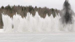 Nacionālie bruņotie spēki ir gatavi veikt spridzināšanas darbus plūdu novēršanai