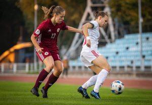Sporta skolas lepnums Sandra Voitāne –  labākā Latvijas futboliste 2020. gadā