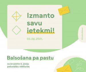 Līdz 24. aprīlim vēlētāji ārvalstīs var pieteikties balsošanai pa pastu 5. jūnija pašvaldību vēlēšanās