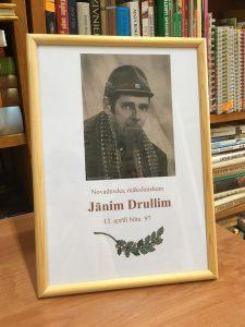 Bebrenes mākslinieka Jāņa Druļļa darbi apkopoti katalogā