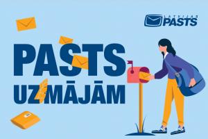 Latvijas Pasts atgādina par iespējām saņemt pasta pakalpojumus klienta dzīvesvietā Augšdaugavas novadā
