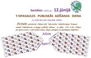 12. jūnijā Vispasaules   publiskās  adīšanas   diena