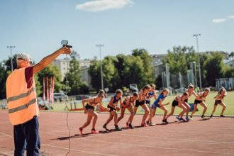 Pirmie Ilūkstes novada Sporta skolas vieglatlētu starti 2021.gadā