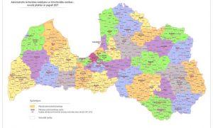 Stājas spēkā administratīvi teritoriālā reforma