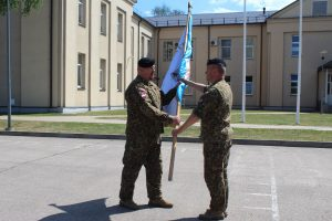 Zemessardzes 32. kājnieku bataljona komandiera amatā stājies majors Zigmārs Krišāns