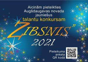 """Augšdaugavas novada jaunieši aicināti pieteikties talantu konkursam """"Zibsnis"""""""