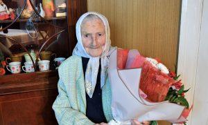 Medumu pagasta iedzīvotāja Marija Pukinska svin 102. dzimšanas dienu!
