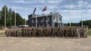 Zemessardzes 3. Latgales brigādes zemessargiem sākas pamatapmācības nometne
