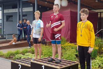 Peldētāju starti Rēzeknes pilsētas čempionātā