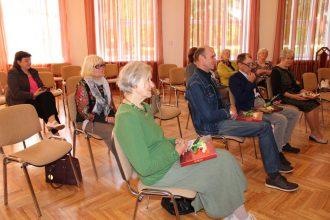 Ilūkstes Kultūras un mākslas centrā aizritējusi vietējo dzejnieku-senioru tikšanās