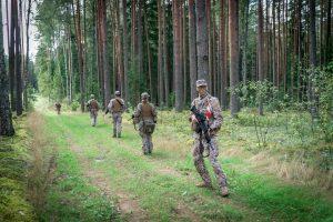 """Zemessardzes 3. Latgales brigāde militārajās mācībās """"Namejs 2021"""" sāk lauka taktisko vingrinājumu"""