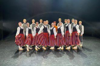 """Deju kolektīvs """"Ance"""" piedzīvo dziesmu un deju svētkus"""