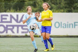 Ilūkstes novada Sporta skolas futbolistēm godam aizvadīta vasaras spēļu sezona