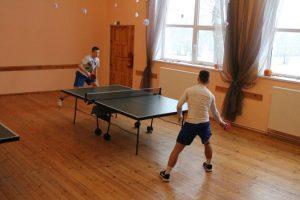 Subatē izspēlēts galda tenisa turnīrs